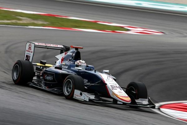 campos racing gp3 pre abu dhabi