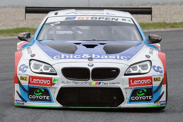 monje bmw m6 gtopen teo mm barcelona
