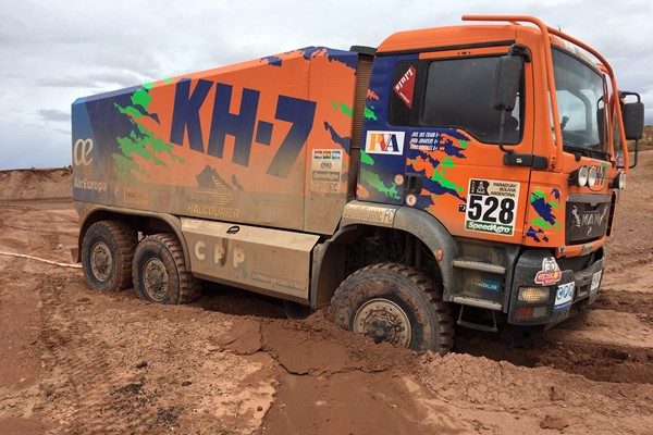 Dakar17 Camion KH7 epsilon