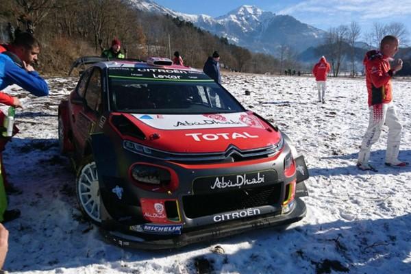 Kris Meeke abandono rallye Monte Carlo 2017