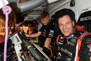 ¡Objetivo cumplido! Llovera por tercera vez consecutiva en el podio final del Dakar