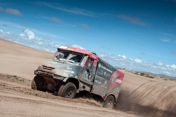 llovera dakar 2017 camion tatra
