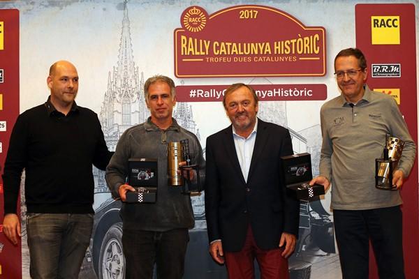 Miro Matavacas porsche 911 clasicos rallye historicos cataluña entrega premios