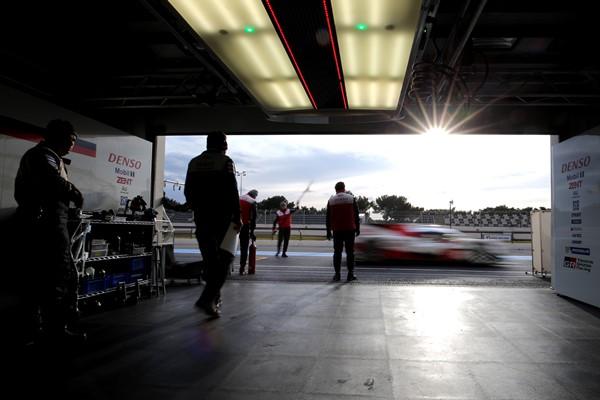 Toyota Gazoo Racing wec boxes