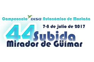 7 y 8 de julio, fecha definitiva de la 44° Subida al Mirador de Güímar