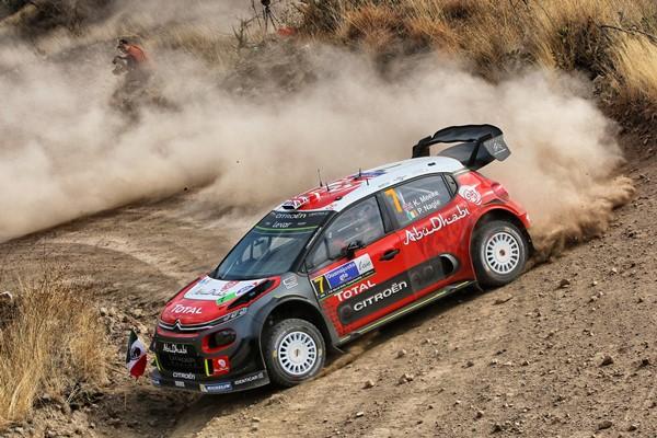 Meeke Citroen C3 WRC Mejico