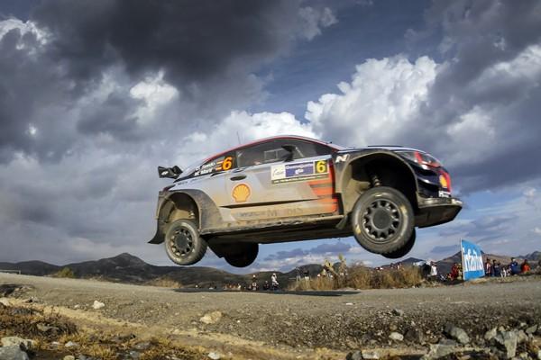 Sordo Hyundai i20 WRC Mejico