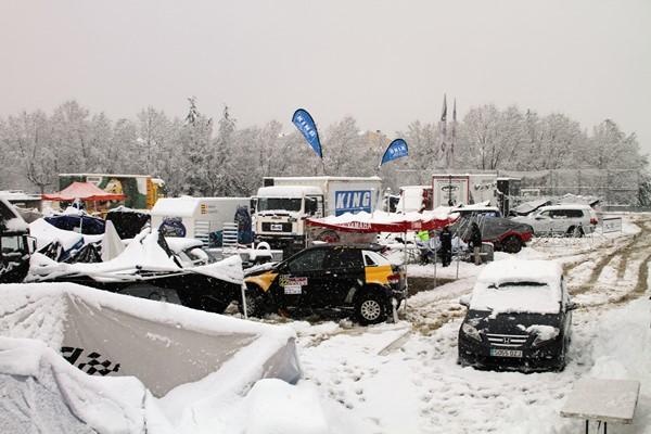 nieve rallye tt lerida pirineos suspension