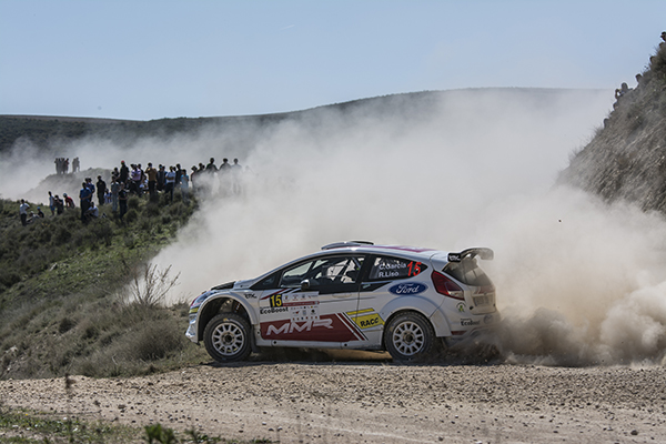 Cristian Garcia - Rally tierra Navarra 2017