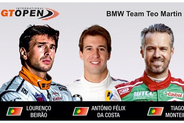 BMW Team Teo Martin beirao da costa monteiro