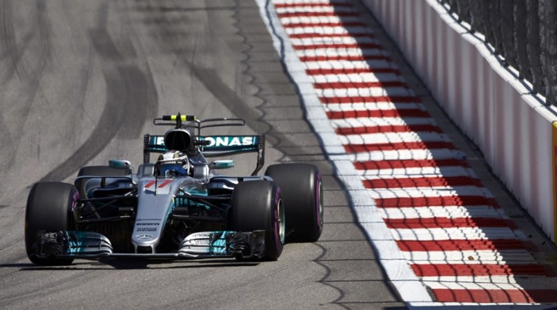 Bottas Mercedes F1 Rusia Sochi
