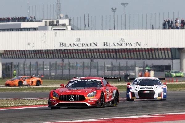Juncadell Mercedes-AMG GT3 Blancpain Misano
