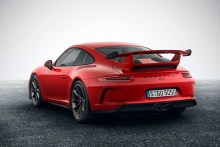 Porsche 911 GT3 2017, fotografías generales