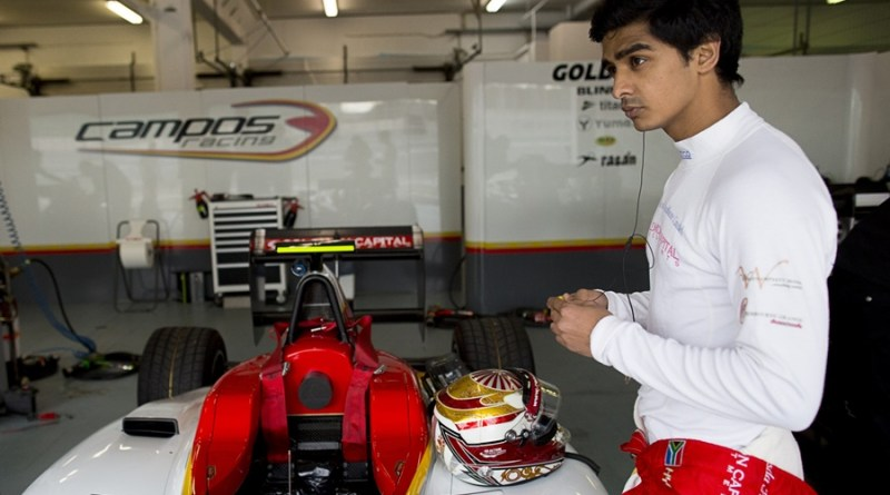 Hyman campos racing gp3