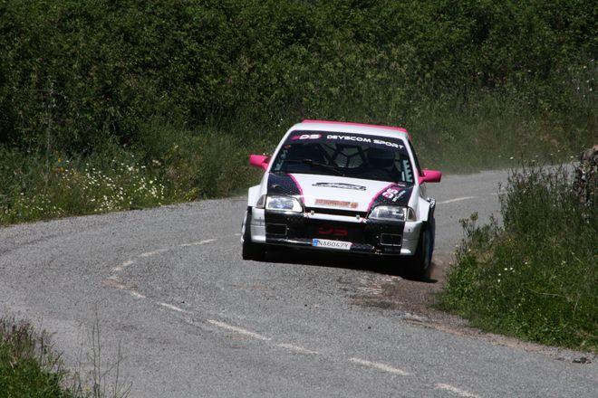 Juan Carlos Fernández Rallysprint Cenicientos 2017