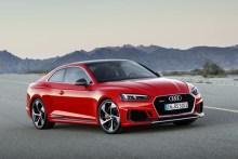 Audi RS5 2017 con nuevo motor V6 biturbo