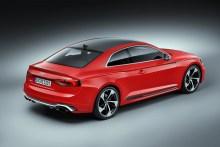 Audi RS5 Coupé 2017, fotografías generales