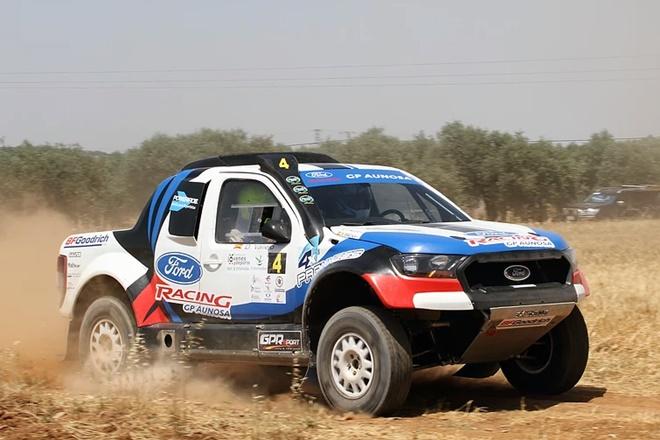 Gracia-Vallejo Ford Ranger CERTT Extremadura