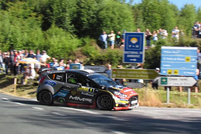 Rallye Orense Cristian Garcia Ford Fiesta R5