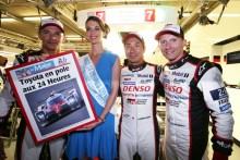 Toyota logra la pole en las 24 Horas de Le Mans