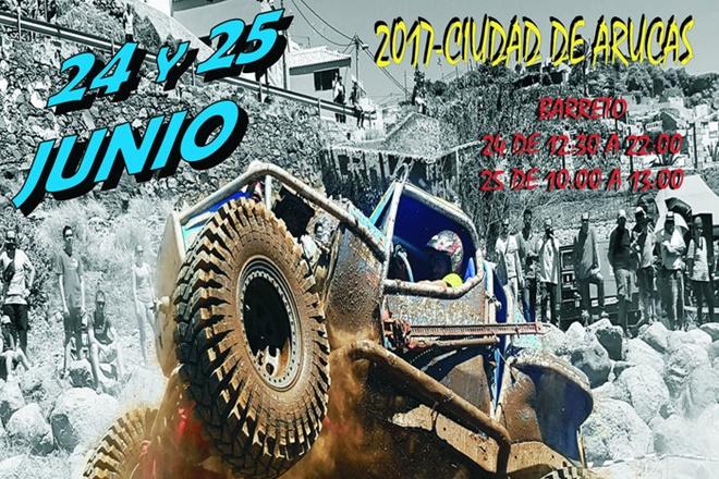 cartel 4x4 Extremo San Juan 2017