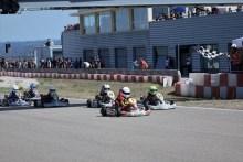 Buen papel de los pilotos aragoneses en el Trofeo MotorLand de Karting 2017 en la tercera cita de la temporada