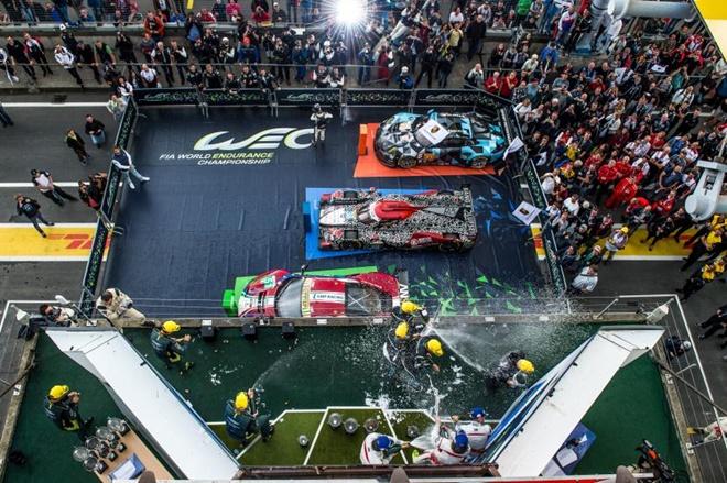 podio Nurburgring