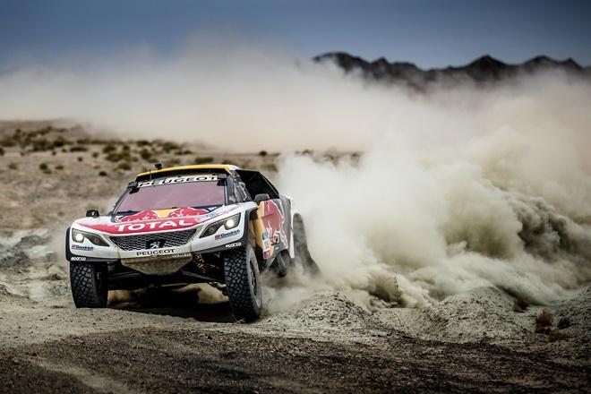 Peugeot DKR Silk Way Rally