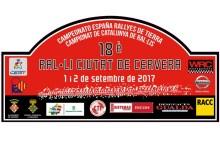 XVIII Rallye de Tierra Ciudad de Cervera