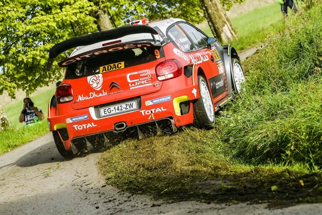 Andreas Mikkelsen Citroën C3 WRC Alemania