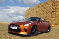 Nissan GT-R prueba 2017