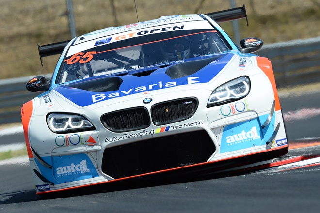bmw m6 gt open teo martin ms 2017