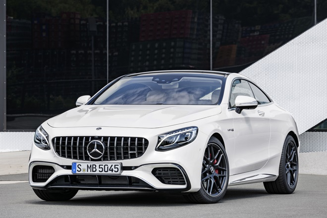 Mercedes Clase S Coupe AMG