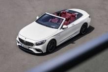 Mercedes-Benz Clase S AMG Cabrio 2017, fotografías generales