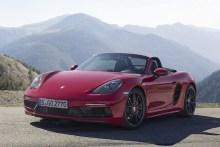 La gama del Porsche 718 aumenta con la versión GTS