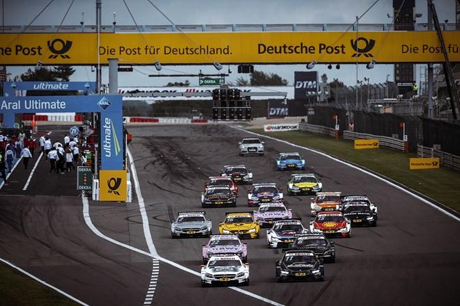 dtm salida 2 nurburgring