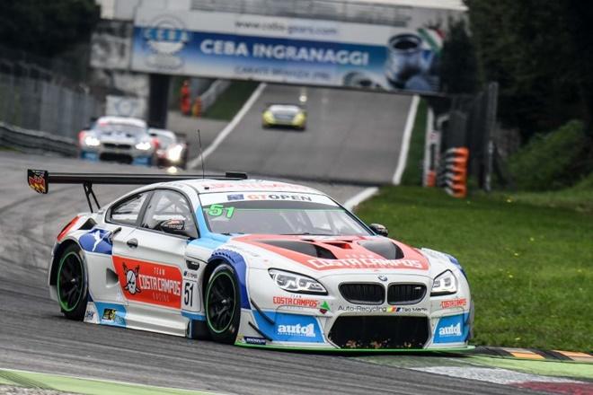 BMW M6 Teo Martin Beirao-Farfus monza GT Open