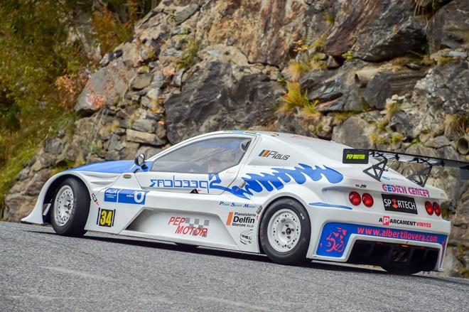 Subida Ordino-Arcalis Ramon Plaus Speed Car K17