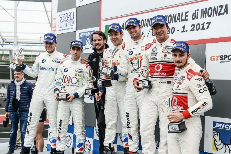 monza GT Open podio 2