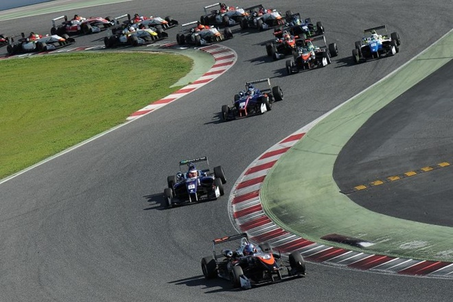 salida formula open cataluña 1