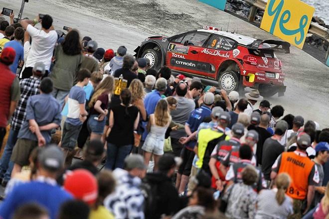 Meeke Citroen C3 WRC Australia