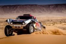 Mini estrena el nuevo Buggy en el Dakar 2018