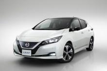 Nissan Leaf 2018, fotografías generales