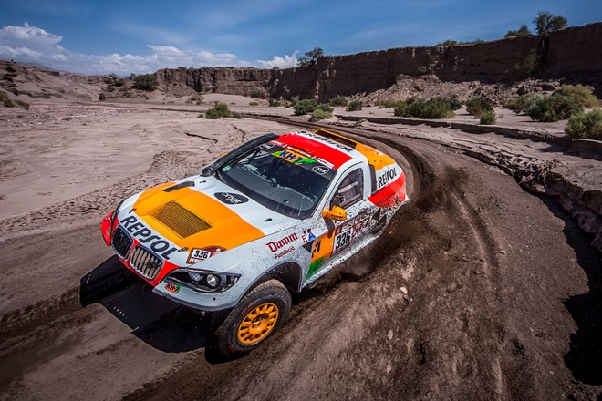Dakar 18 Esteve BV6 Proto