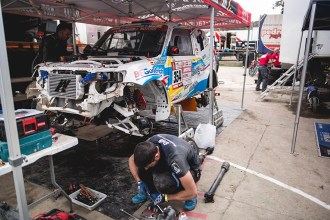 Cristina Gutiérrez ya divisa el final del Dakar 2018