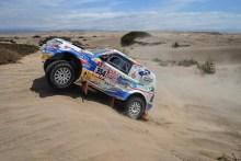 Cristina Gutiérrez resiste al Dakar más extremo de Sudamérica