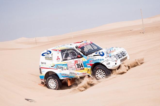 Gutiérrez Dakar 2018 Mitsubishi Montero