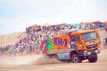 Jordi Juvanteny arranca el Dakar con paso firme