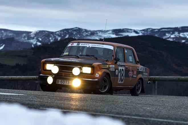 Cañellas Ferrater Rallye Monte-Carlo Historique 2018
