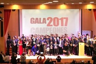 La FADA reescribió la historia del automovilismo aragonés en la Gala de Premiados ante las máximas autoridades deportivas